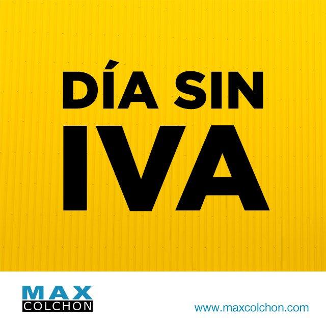 dias-sin-iva-max-colchon