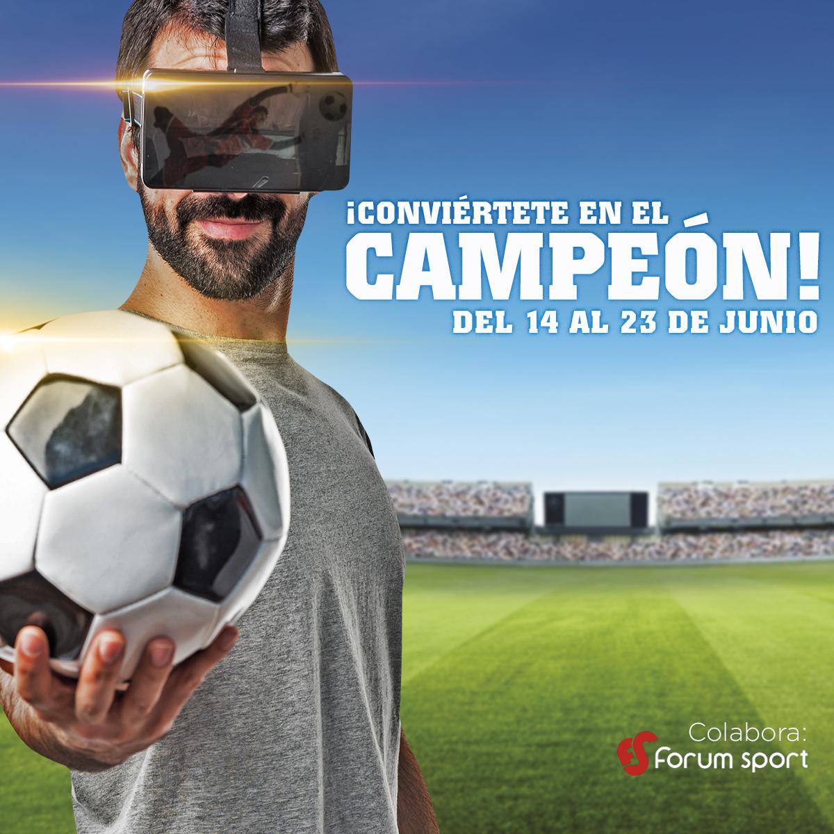 ¡CONVIÉRTETE EN EL CAMPEÓN!