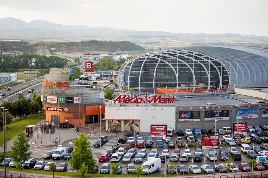 Centro Comercial Berceo en Logroño