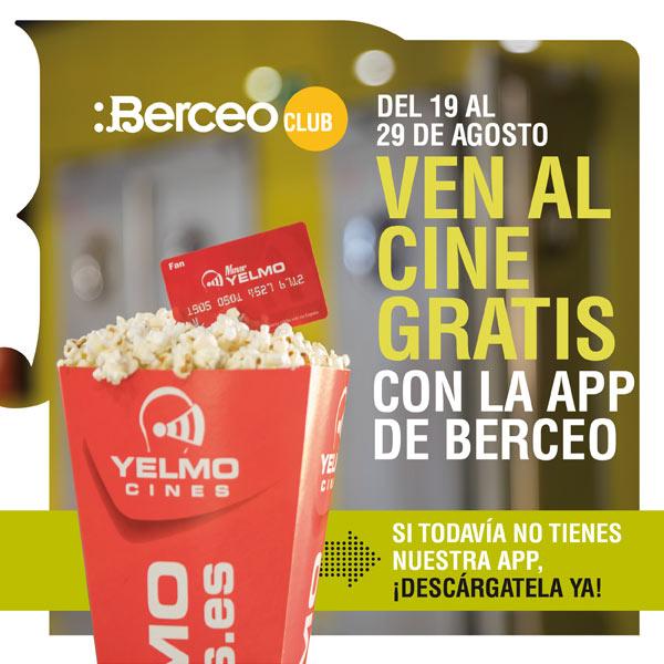 Ven al cine gratis en Berceo